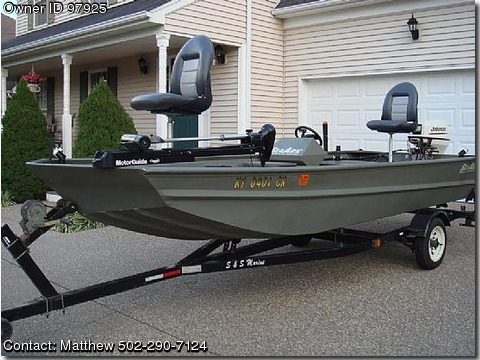 2002 sea ark 1652 p pontooncats for Fishing boats for sale by owner