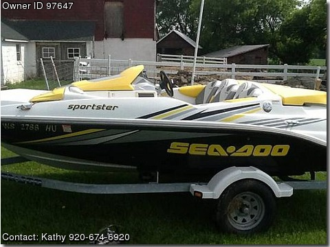 2006 Sea Doo Sportster 215 Wprocket
